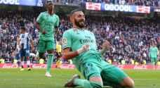 """ريال مدريد أمام فرصة ذهبية للإنفراد بالصدارة أمام إسبانيول.. """"الليلة"""""""