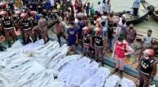 غرق عبارة في بنغلادش يوقع 23 قتيلا