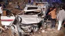 وفاة وإصابتان احداهما بالغة بحادث مروع في المفرق.. صور