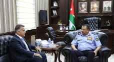 الحواتمة يستقبل مدير الأمن اللبناني لبحث التعاون المشترك