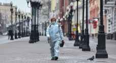 168 وفاة و 6632 إصابة جديدة بكورونا في روسيا