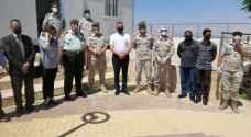 وزير الصحة يتفقد مناطق الحجر والعزل الصحي في البحر الميت