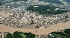 تواصل عمليات الإنقاذ إثر فياضانات أودت بالعشرات في اليابان