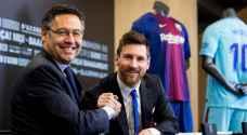 رئيس نادي برشلونة: ميسي يريد الاعتزال في الكاتالوني