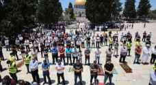 أوقاف القدس تناشد المتوجهين للأقصى الصلاة في الساحات والتباعد خشية كورونا