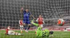 الدوري الانجليزي: تشلسي ثالثا وليستر ينقذ نقطة في ملعب أرسنال