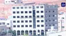 انخفاض مساحة الأبنية المرخصة في الأردن