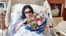سميرة توفيق تجري عملية قسطرة في القلب - صور