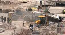 """الاحتلال يهدم بناء مركز """"كوفيد 19"""" في الخليل"""