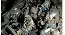 عدسة رؤيا ترصد بقايا القذيفة التي سقطت في اربد مساء الاثنين - صور
