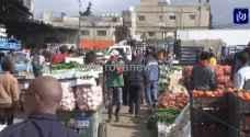 السماح للأسواق الشعبية بالعمل في الأردن