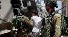 الاحتلال يجري حملة مداهمات واعتقالات بالضفة