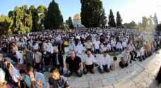 27 ألف مصلٍ أدوا صلاة عيد الأضحى في الأقصى- صور