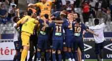 باريس سان جرمان يحرز كأس الأندية الفرنسية بركلات الترجيح