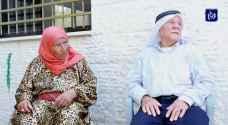 حلوة وأحمد.. قصة حب مغروسة في أرض الساوية في نابلس
