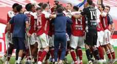 أوباميانغ يقود أرسنال لإحراز كأس الاتحاد الإنجليزي