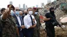 الرئيس الفرنسي يغرد باللغة العربية: بحبك يا لبنان