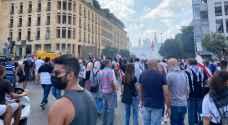 """"""" يوم الحساب """" مظاهرات غاضبة في بيروت للمطالبة بمحاسبة المسؤولين عن الانفجار"""