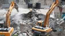 قوات الاحتلال تهدم قرية فراسين جنوبي جنين