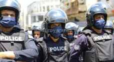 تطبيق إعادة الانتشار الأمني في محافظات الاردن لمواجهة كورونا