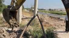 """سرقوا مياه الأردنيين ..بيوت ومزارع """"ترفيهية"""" تسرق مياه الأردنيين من تحت الشارع - تفاصيل وصور"""