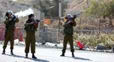 إصابة شاب فلسطيني برصاص الاحتلال شمال بيت لحم