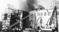 51 عامًا على إحراق المسجد الأقصى
