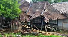 زلزالان يضربان سواحل جزيرة سومطرة الإندونيسية