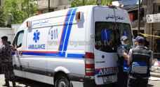 وفاة و4 إصابات بحادث تصادم في محافظة مادبا