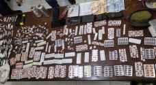 ضبط 10 أشخاص من مروجي وحائزي المواد المخدرة في الرمثا