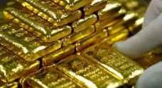 ارتفاع الدولار يضع الذهب على مسار الانخفاض