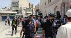الأمن يواصل حملاته التوعوية والرقابية امام مساجد الأردن.. فيديو