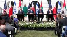 تل آبيب وقعت اتفاقي التطبيع مع الإمارات والبحرين في البيت الأبيض