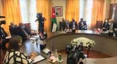 وزراء خارجية الأردن ومصر وفرنسا وألمانيا وأوروبا يبحثون في عمان سبل دعم السلام