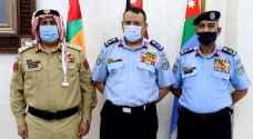 مدير الأمن العام يكرم ضباط متقاعدين برتبة لواء