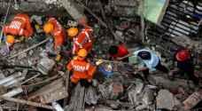 41 قتيلا في انهيار مبنى في الهند