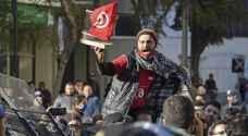 احتجاجات في تونس وسط خلاف سياسي محتدم