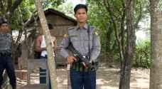 شرطة بورما تطلق الرصاص المطاطي لتفريق محتجين