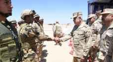 رئيس الأركان المصري يشرف على تدريب عسكري جنوب البلاد