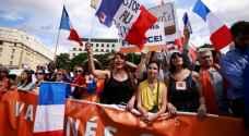 تظاهرات حاشدة في فرنسا رفضا لشهادة كورونا