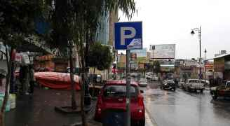 تساقط الامطار - سوق جرش
