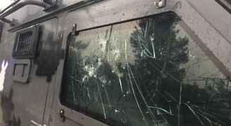 """صورة من """"أحداث عنجرة"""" في عجلون"""