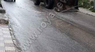 انهيار يغلق طريقا في الجوفة بالعاصمة عمان ويسبب أضرارا