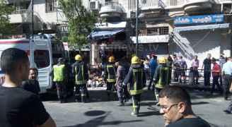 وفاتان وإصابتان احداهما بليغة في انفجار نتيجة تسرب غاز في وسط البلد بعمان
