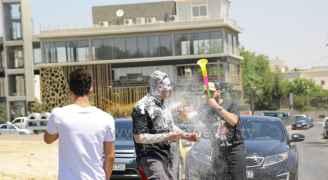 أجواء احتفالات طلاب التوجيهي في عمّان