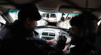 نشامى الأمن والدرك يؤدون واجبهم خلال المنخفض الجوي في وسط البلد بعمان