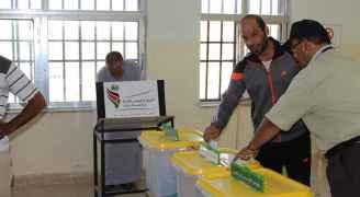 من الانتخابات في محافظة الطفيلة
