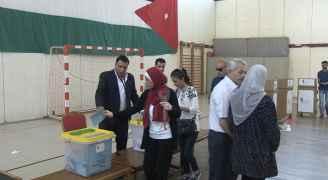 من الانتخابات في إربد