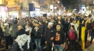 'جبهة العمل' ينظم مسيرة ليلية نصرة للقدس في اربد