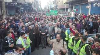 مسيرة في إربد للجمعة الثانية على التوالي